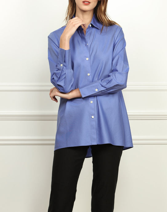 Becky Luxe Cotton A-line Tunic
