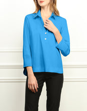 Load image into Gallery viewer, Aileen Button Back Collared Top