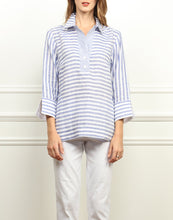 Load image into Gallery viewer, Aileen Luxe Linen Button Back Top