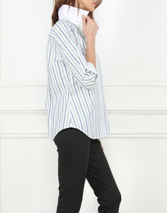 Diane Classic Fit Shirt In Stripe