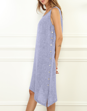 Load image into Gallery viewer, Ingrid Luxe Linen Sleeveless Dress