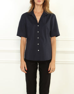 Joselyn Stretch Luxe Cotton Short Sleeve Shirt