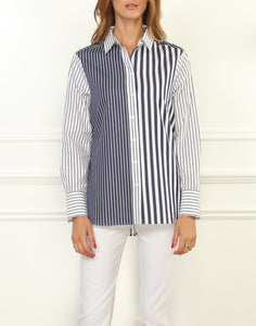 Louisa Long Sleeve Stripe Shirt