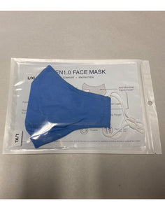 Tailored Mask With Built-In Filtration Layer - Single Pack