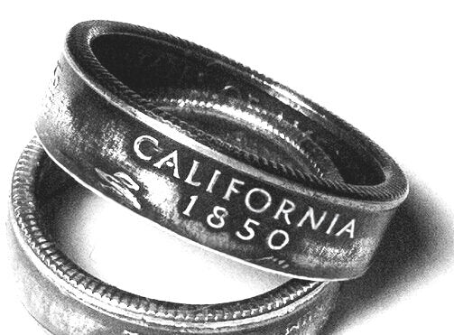 State Quarter Coin Ring (any state)