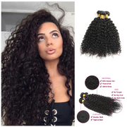 Ustar 100% Unprocessed Brazilian Jerry Curly Virgin Human Hair 3 Bundles