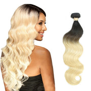 Ustar Mink Ombre Honey Blonde #1B/613 Body Wave 100%  Human Hair