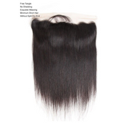 Ustar 100% Human PREMUIM Hair 4x13 Free Part Frontal Straight