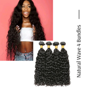 Ustar Virgin Hair 4 Bundles Nartual  Wave