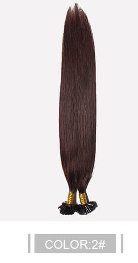 Ustar 100% Human Hair Quality U Tip Straight Hair Extensions  #2