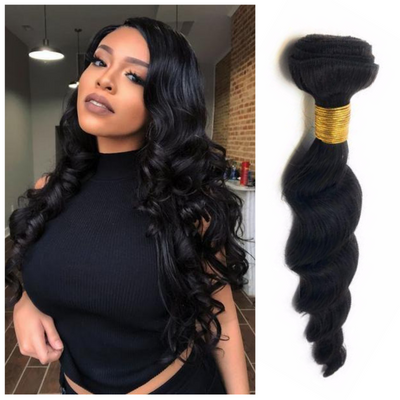 Ustar 9A  Remy Loose Wave 100%Human Hair