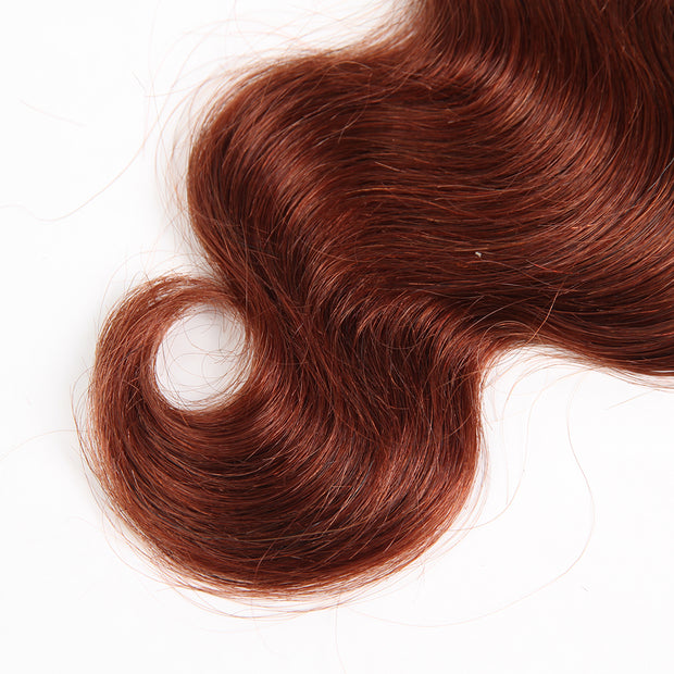 Ustar #33 Auburn Body Wave 100%  Human Hair