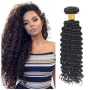 Ustar Affordable 100% Remy Hair Bundles 1B Off Black Deep Wave 8 inch to 26 inch