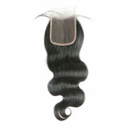 Ustar HD Closure 5x5 High Quality Human Hair Free Part Natural Black Closure (18-22 inch, Straight,Body Wave,Deep Wave)