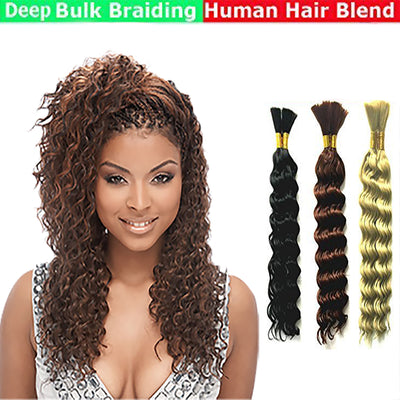 Deep Bulk Braiding Hair