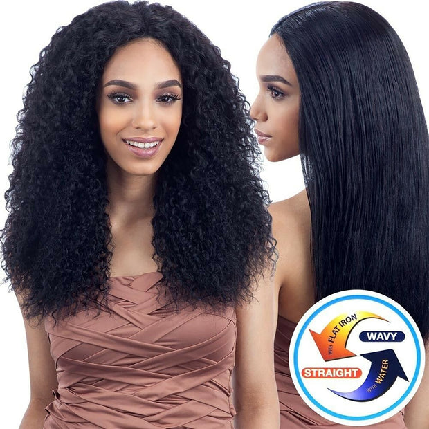 Wet N Weave BOHEMIAN curls 100 Human Hair Natural black Color