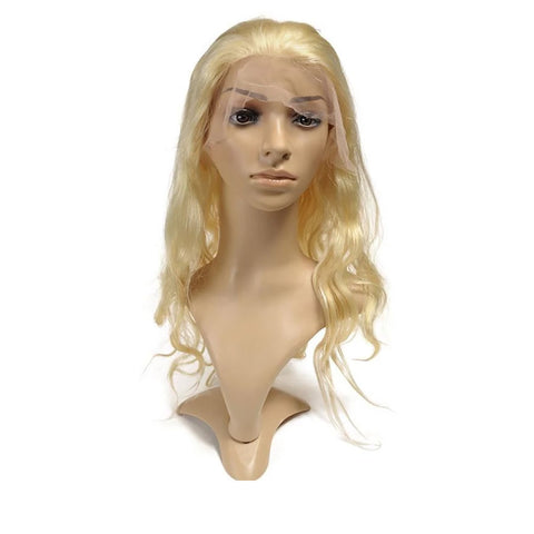 Ustar Full Lace Wig #613 Blonde 150% Density Body Wave Virgin Remy Human hair