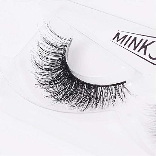 Long Thick Dramatic Look Handmade Reusable 3D Mink Eyelashes For Makeup  A19