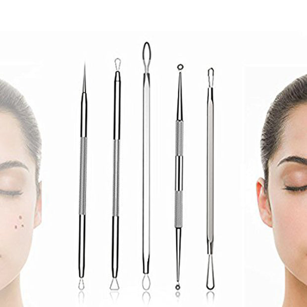 BESTOPE Blackhead Remover Pimple Comedone Extractor Tool With De La Cruz 10% Sulfur Ointment Acne Medication