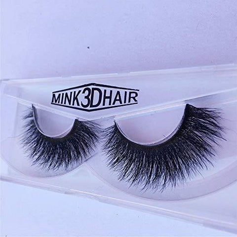 Long Thick Dramatic Look Handmade Reusable 3D Mink Eyelashes For Makeup A09