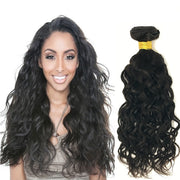 Ustar 100% unprocessed Virgin human Hair Bundles Natural Black Natural Wave 8 inch to 30 inch