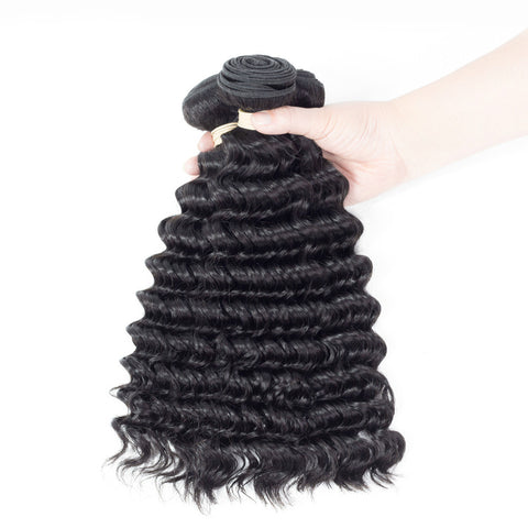 Ustar 7A Virgin Hair 4 Bundles Deep Wave