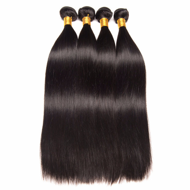 Ustar 7A Virgin Hair 4 Bundles Straight