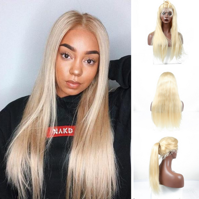 Usatr  LACE FRONTAL WIG #613, 150% Density Straight Hair