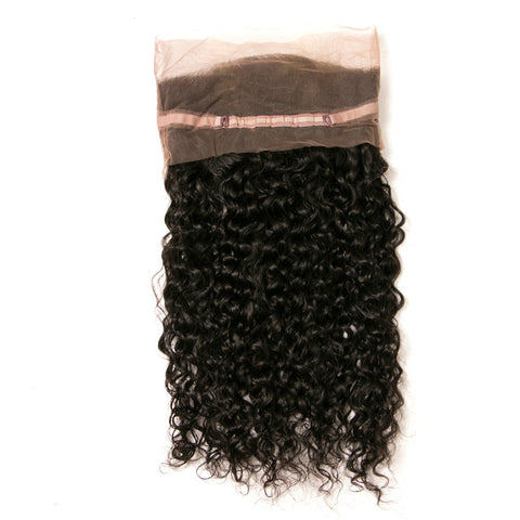 Ustar 100% Human Hair 360 Lace CLOSURE Deep Wave