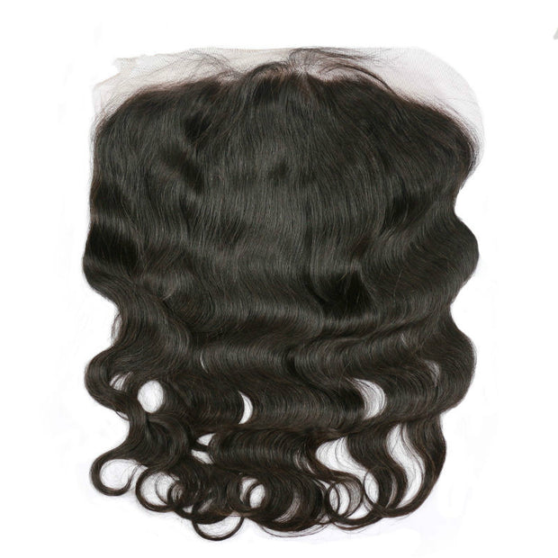Ustar 100% Human Hair 13x6 Lace Free Part Frontal Body Wave