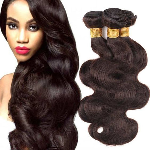 Ustar #2 Dark Brown Body Wave 100% Human Hair