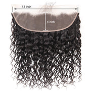 Ustar UNPROCESSED 100% Human Hair 4x13 Free Part Frontal  Jerry Curly