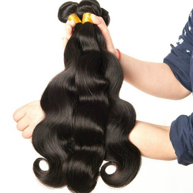 Ustar 7A Virgin Hair 3 Bundles Body Wave