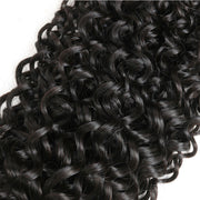 7A JERRY CURL Hair  Water Wave 3 Bundles