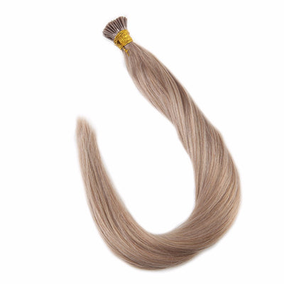 Ustar 100% Human Hair Quality I Tip Hair Extensions #18