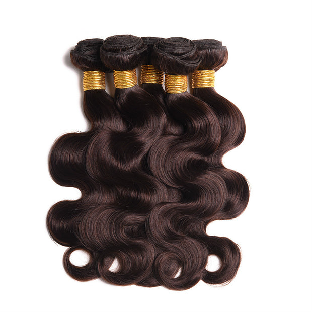 Ustar  6A Premium Virgin Dark Brown Body Wave Human Hair