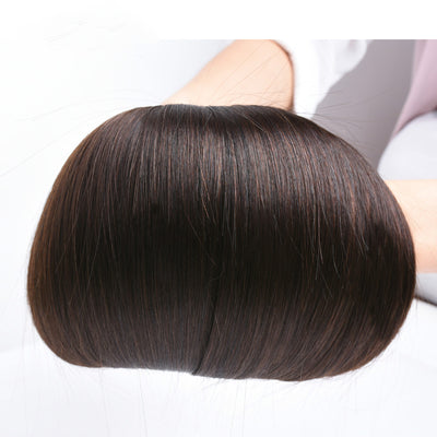 Ustar   Premium Virgin Dark Brown Straight  Human Hair