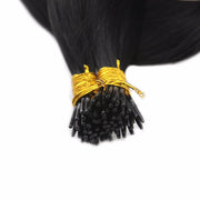 Ustar  100% Human Hair Quality I Tip  Straight Hair Extensions #1