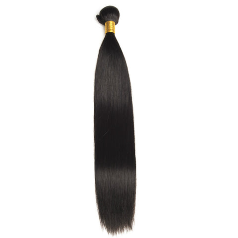Ustar Natural Black Straight 100% Human Mink Hair