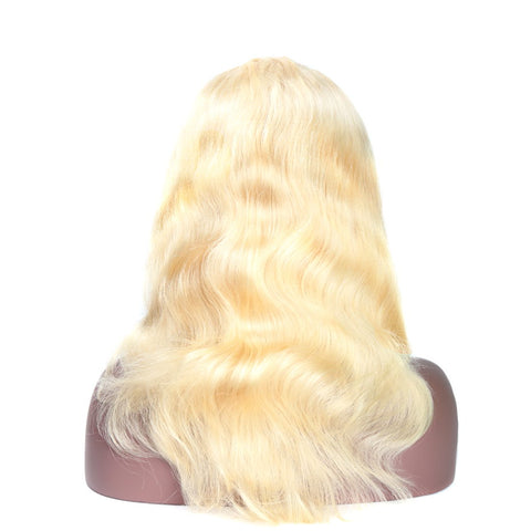 Ustar Full Lace  # 613, 150% Density Body Wave hair