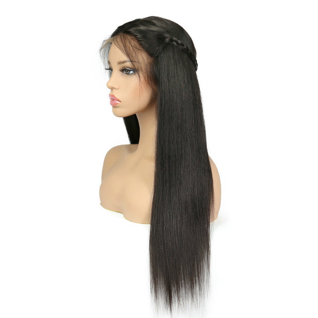 Ustar Full Lace Wig  150% Density  Straight  Natural Black