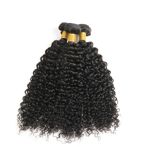 Ustar 7A Virgin Hair 3 Bundles Jerry Curl