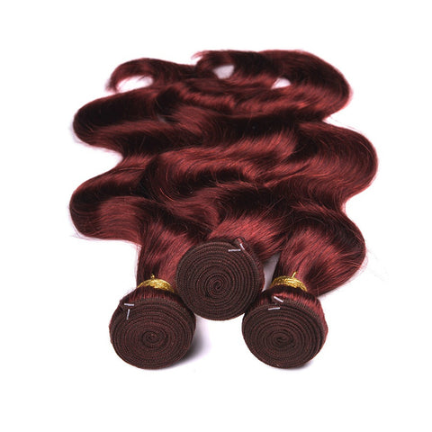 Ustar#99J Burgundy  Body Wave  100% Human Hair