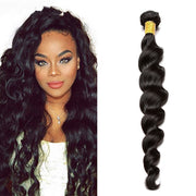 Ustar 100% UNPROCESSED Virgin Hair Bundles Natural Color Loose Wave 8 inch to 30 inch