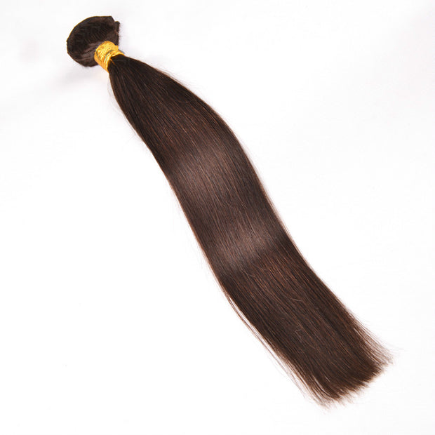 Ustar #4 Medium Brown Straight  100%  Human Hair
