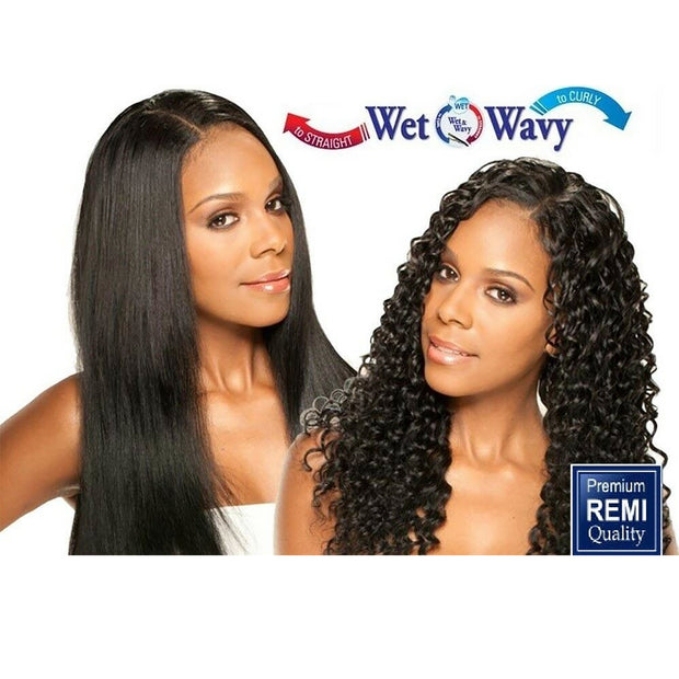 Wet N Weave SASSY Curl 100 Human Hair Natural black Color
