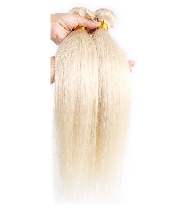 Ustar Mink Platinum Blonde #60  Straight 100% Human Hair