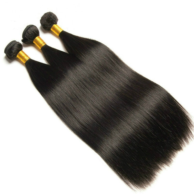 Ustar 7A Virgin Hair 3 Bundles Straight