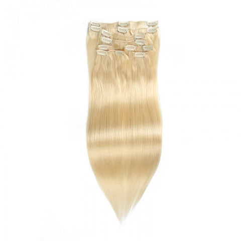 Ustar 100% Human Hair Quality Clip In Hair Extensions #18
