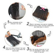 Gift Pack Wet and Weave Curly Hair
